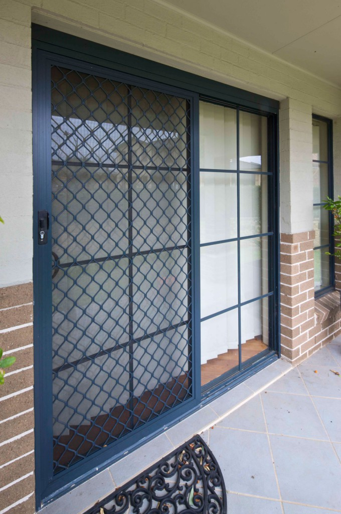 Diamond Grille Security Screens District Screens Pty Ltd