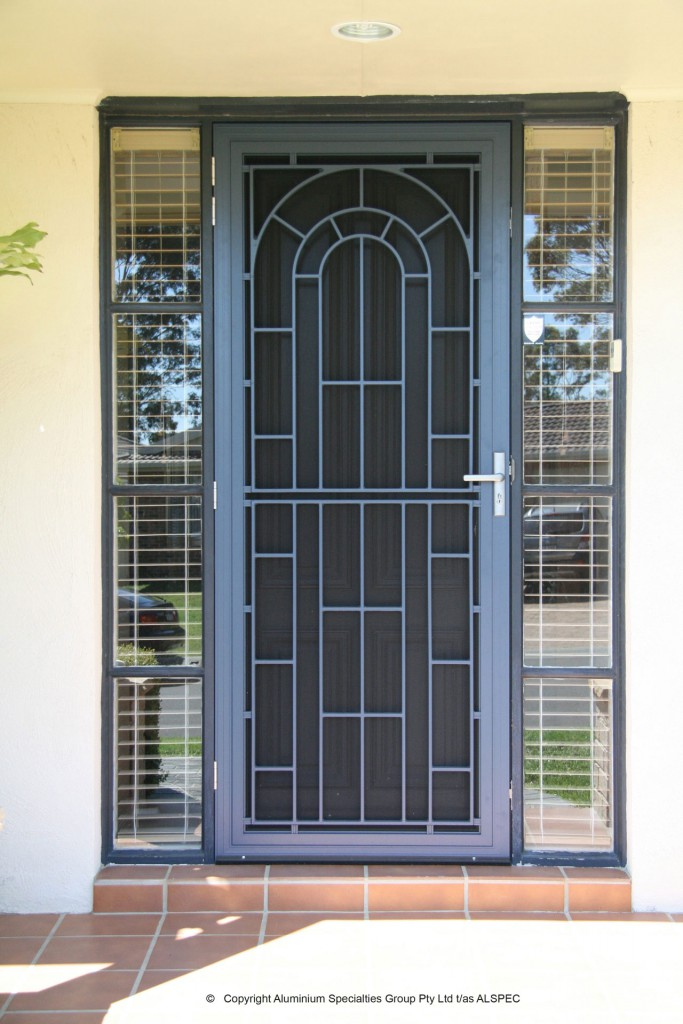 Federation Style Security Doors District Screens Pty Ltd